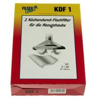 KDF1  VETFILTER 470 X 560MM. MET VETINDICATOR