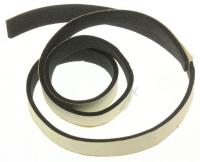 SEAL-COVER DUCT(F):SDC18809,CRBLK,T3.0,